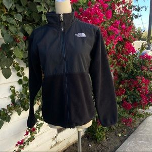 The North face Denali jacket in black